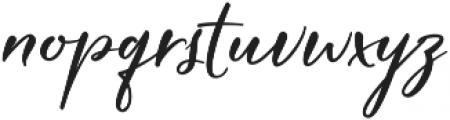 Hardwired Script Regular ttf (400) Font LOWERCASE