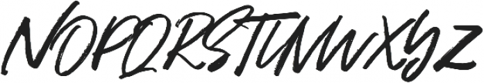 Hariston otf (400) Font UPPERCASE