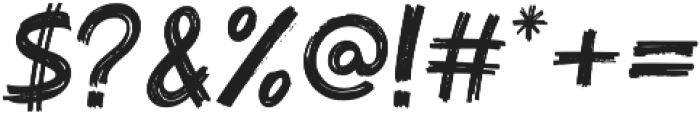 Harizmix 1.00 ttf (400) Font OTHER CHARS