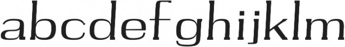Harlaw Regular otf (400) Font LOWERCASE