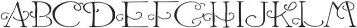 Harlequinty otf (400) Font UPPERCASE