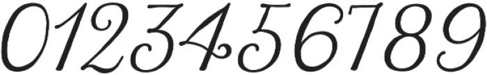 Harman Script otf (400) Font OTHER CHARS