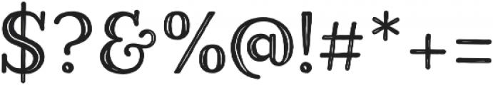 Harman Slab Inline otf (400) Font OTHER CHARS