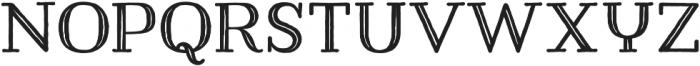 Harman Slab Inline otf (400) Font LOWERCASE