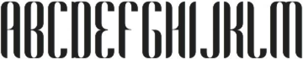 Harmonial Regular otf (400) Font UPPERCASE