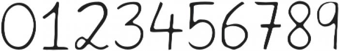 Harmony Light otf (300) Font OTHER CHARS