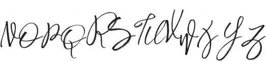 Harmony king otf (400) Font UPPERCASE