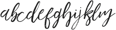 Harmony king otf (400) Font LOWERCASE