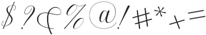 Harmony otf (400) Font OTHER CHARS