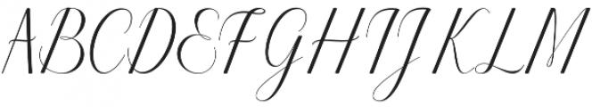 Harmony otf (400) Font UPPERCASE