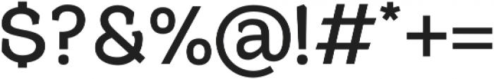 Harnet otf (700) Font OTHER CHARS