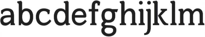 Harnet otf (700) Font LOWERCASE