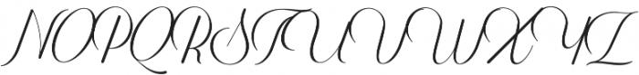 Harper Script Rounded otf (400) Font UPPERCASE
