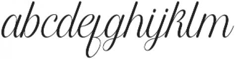 Harper Script Rounded otf (400) Font LOWERCASE