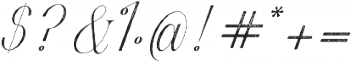 Harper Script Textured otf (400) Font OTHER CHARS