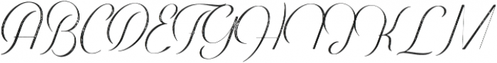 Harper Script Textured otf (400) Font UPPERCASE