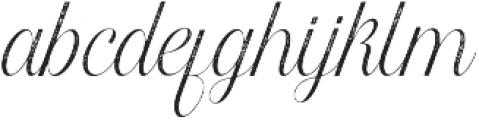 Harper Script Textured otf (400) Font LOWERCASE