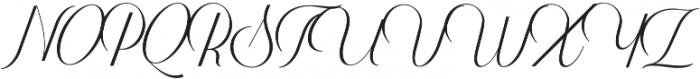 Harper Script (null) otf (400) Font UPPERCASE