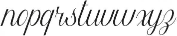 Harper Script (null) otf (400) Font LOWERCASE