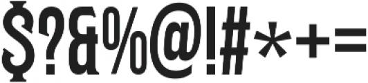Harrison Serif 02 otf (400) Font OTHER CHARS