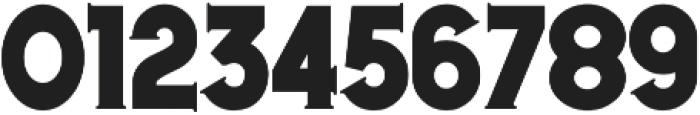 Harrold Three Regular otf (400) Font OTHER CHARS