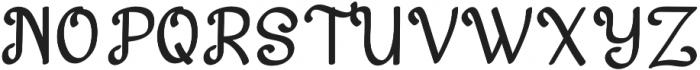 Harton otf (400) Font UPPERCASE