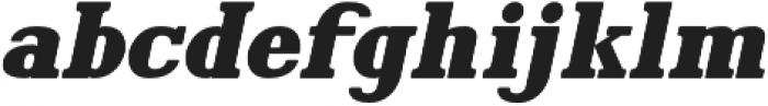Hartwood Clean Oblique otf (400) Font LOWERCASE