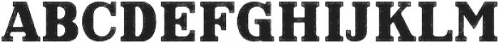 Hartwood Rough otf (400) Font UPPERCASE