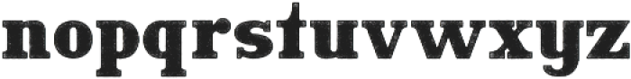 Hartwood Rough otf (400) Font LOWERCASE