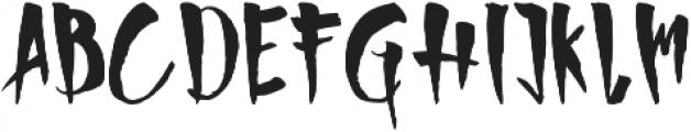 Harvest otf (400) Font UPPERCASE