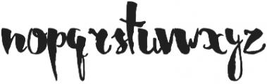 Harvest otf (400) Font LOWERCASE