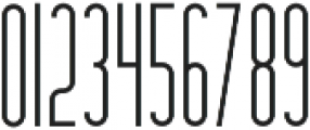Hashtag Regular otf (400) Font OTHER CHARS