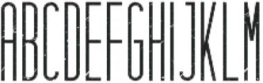 Hashtag Rough otf (400) Font UPPERCASE