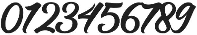Hastadaya otf (400) Font OTHER CHARS