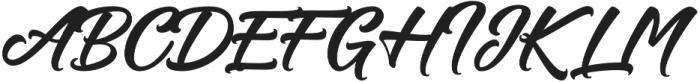 Hastadaya otf (400) Font UPPERCASE
