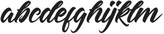 Hastadaya otf (400) Font LOWERCASE
