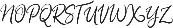 Hasty ttf (400) Font UPPERCASE