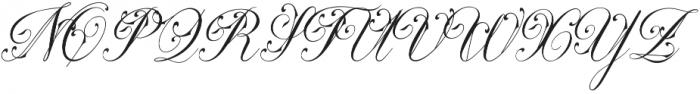 Hasya D'Ellena otf (400) Font UPPERCASE