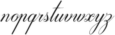 Hasya D'Ellena otf (400) Font LOWERCASE