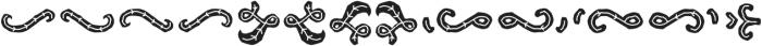 Hatter Display Pro Ornament Line otf (400) Font LOWERCASE