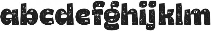 Hatter Halloween Ding Rough Heavy otf (800) Font LOWERCASE