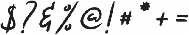 Hattes Italic otf (400) Font OTHER CHARS
