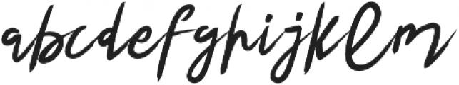 Hattes Italic otf (400) Font LOWERCASE