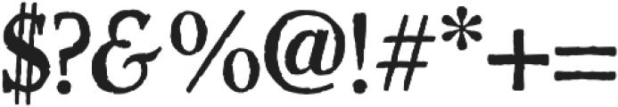 Haunted Serif otf (400) Font OTHER CHARS