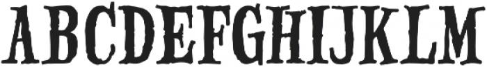 Haunted Serif otf (400) Font UPPERCASE