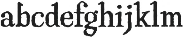 Haunted Serif otf (400) Font LOWERCASE