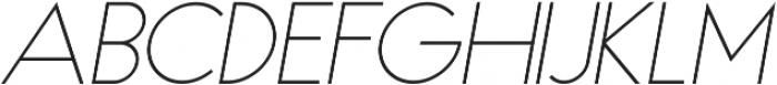 Haus ttf (300) Font UPPERCASE