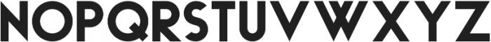 Haus ttf (700) Font UPPERCASE