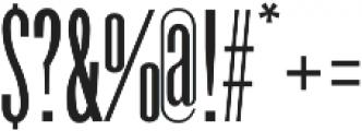 Havanna Regular otf (400) Font OTHER CHARS