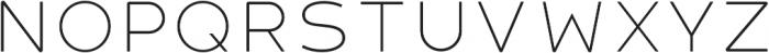 Havelock Titling Light otf (300) Font LOWERCASE